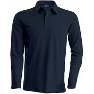 Polo Homme Manches longues - Flocage logo